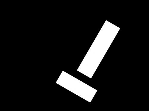 消しゴムで消している白黒イラスト