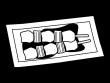 ねぎまの焼き鳥の白黒イラスト02
