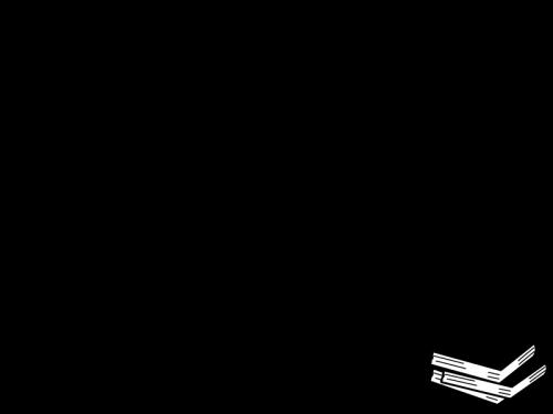 本のフレーム・枠の白黒イラスト