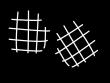 鍋つかみ・ミトンの白黒イラスト02